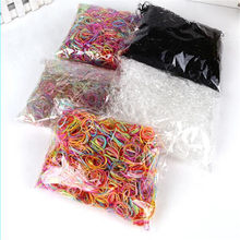 200/1000PCS/Lot Disposable Gum Hair Children TPU Rubber Bands Ponytail Holder Elastic Hair Band Girls Scrunchie Hair Accessories(China)
