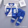 2017 children's clothing set of boys sport 3pcs sets cartoon Letter boys clothes suit