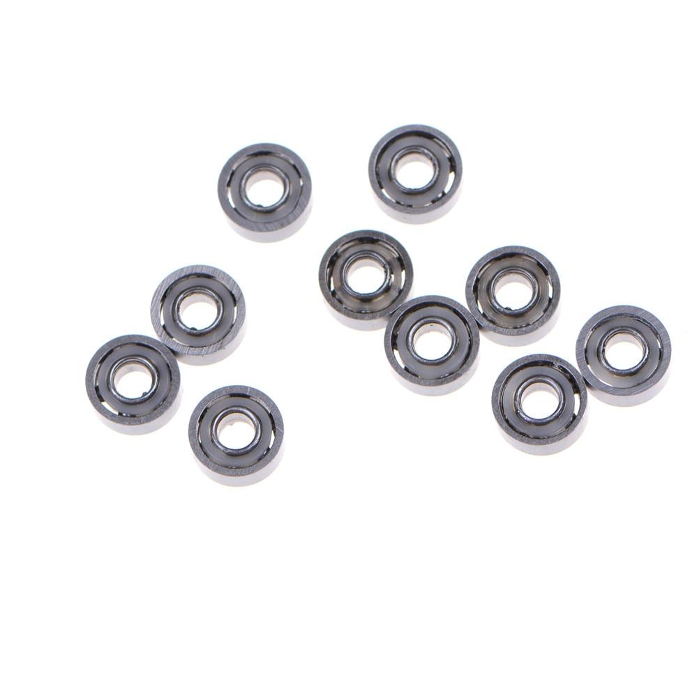Metal Flanged Rubber Sealed Ball Bearing Bearings 5 Pcs MF83-2RS 3x8x3 mm