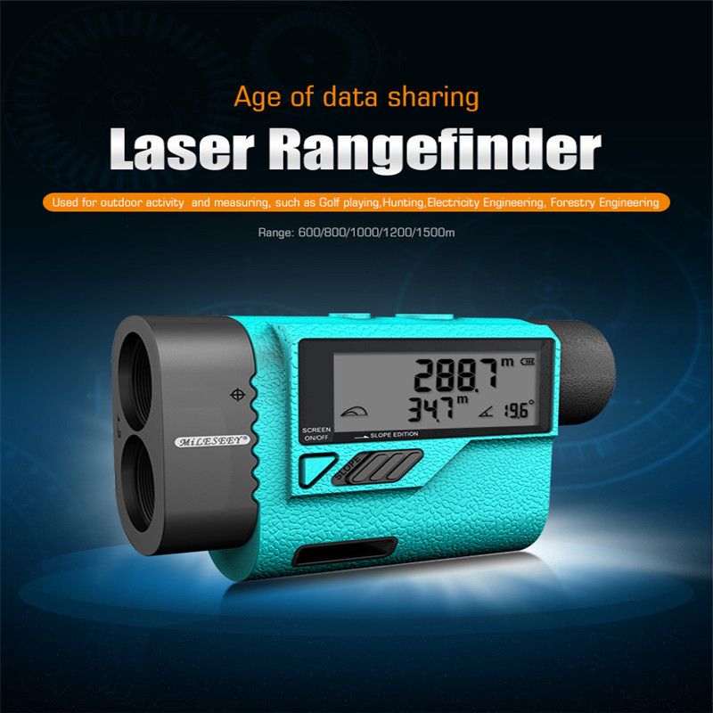 Mileseey PF3S Golf Laser Rangefinder Telescope 600m Laser Distance Meter Golf hunting Laser Range Finder with Flag-Lock 1500mMileseey PF3S Golf Laser Rangefinder Telescope 600m Laser Distance Meter Golf hunting Laser Range Finder with Flag-Lock 1500m