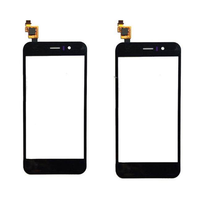 """4.5 """"Digitador Da Tela de Toque Para JIAYU G5 G5S Sensor Capacitivo Tela Sensível Ao Toque de Substituição Do Painel de Vidro de Cor Preta"""