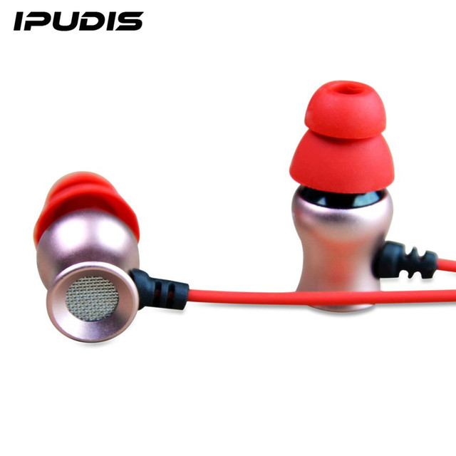 2acd1c96c IPUDIS Magnes Metalu Słuchawki Rożek Douszne Przewodowe Telefon Słuchawki  Zaczep Na Ucho Słuchawki z MIKROFONEM Sportowe