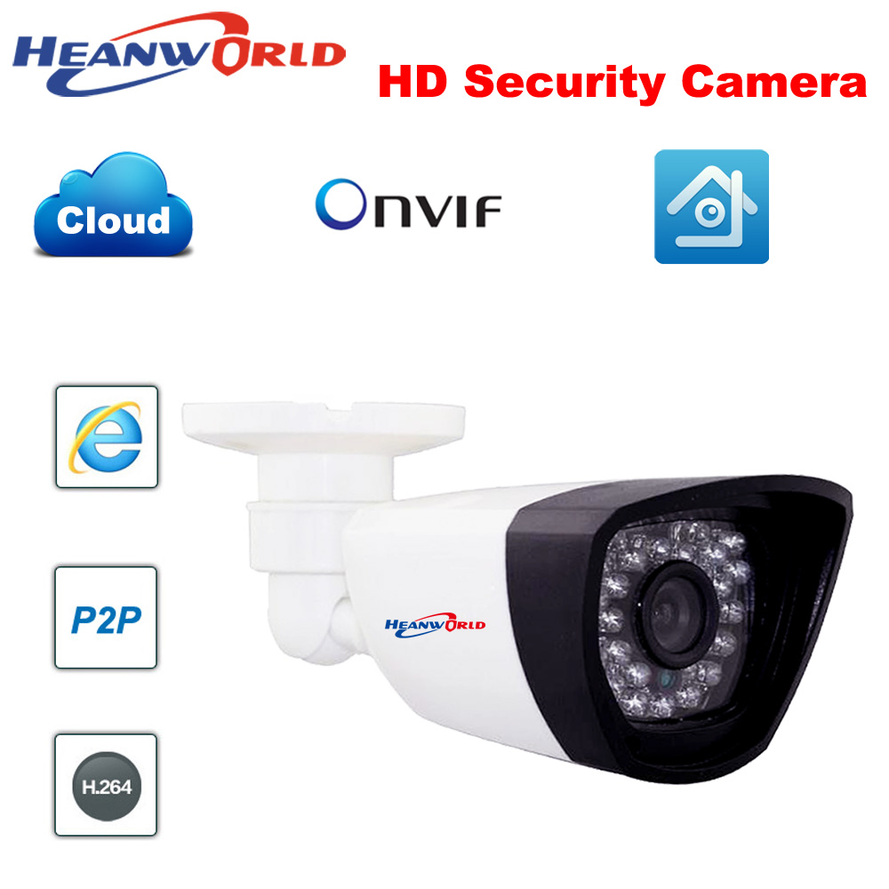 Security & Protection Video Surveillance Heanworld Poe Camera 720p Power Over Ethernet Ir Bullet Ip Camera Onvif Outdoor Indoor Home Security Camera Cctv Network Ip Cam High Quality