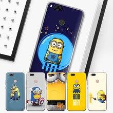 New Arrivals Minions for Xiaomi Redmi Notcase For Mi 8 Case A1 6 cases 4X 5A Note 4 5 Plus