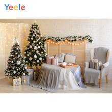 Yeele Photography Backdrops Room Interior Merry Christmas Baby Children Portrait Photographic Backgrounds For the Photo Studio polyester merry christmas room gifts photography backdrops for party photo studio portrait backgrounds props s 2626