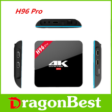 H96 Pro Android 6.0 Amlogic S912 Octa Core 2G Ram 16G Rom 2.4GHZ/5.8GHZ Wifi Smart Android Tv Box H96 PRO 5PCS 2016 New Arrival
