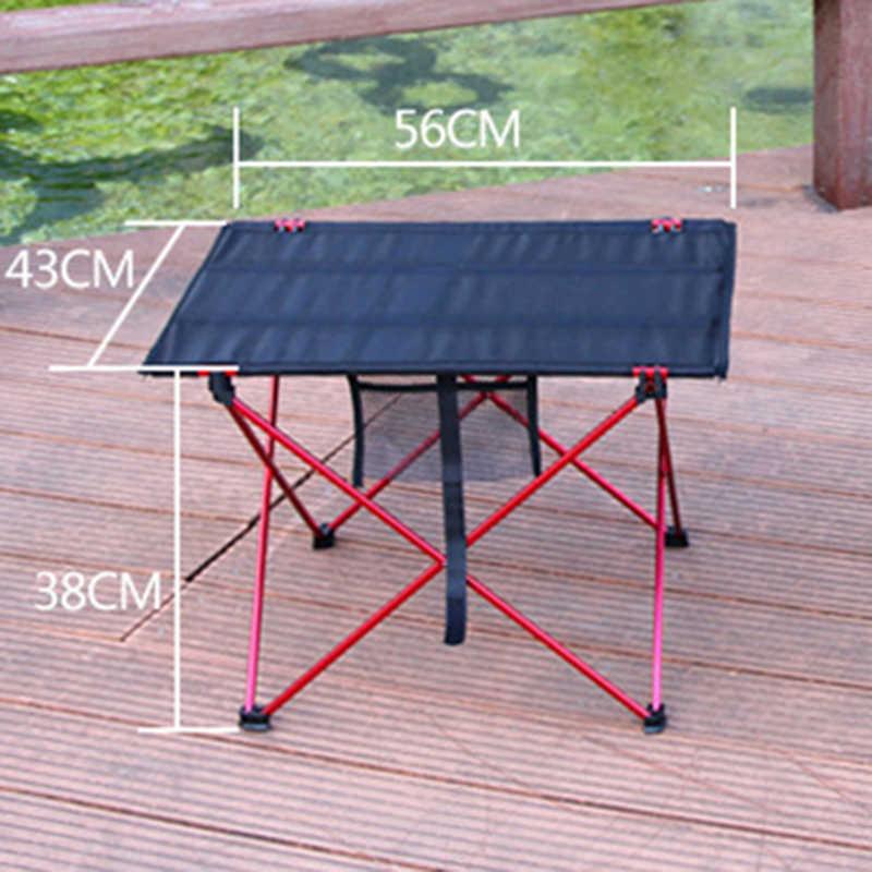Открытый стол портативная складная мебель для кемпинга компьютер для пикника Al Light Цвет Противоскользящий складной 6061 для стола 7075 для стула