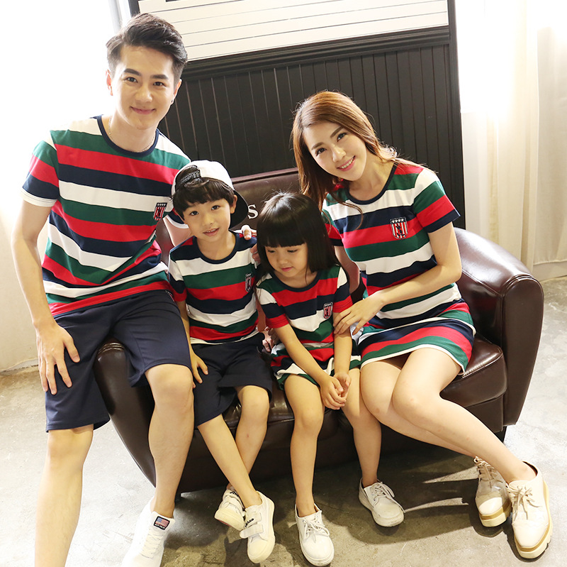 Family Look Outfit National Shirts 2020 Father Mother Daughter Son Mom Mommy And Me Clothes Dress Couple Family Matching Clothes