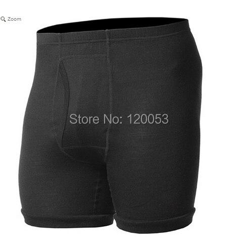 Anti-Odor,Breathable 100% Australia Merino Wool Men's Boxer, Men's Merino Wool Shorts, Men's Wool Underwear Shorts, Lightweight