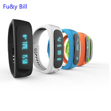 The new stylish E02 waterproof Bluetooth smart phone smart phone to remind the health monitoring step movement smart Bracelet
