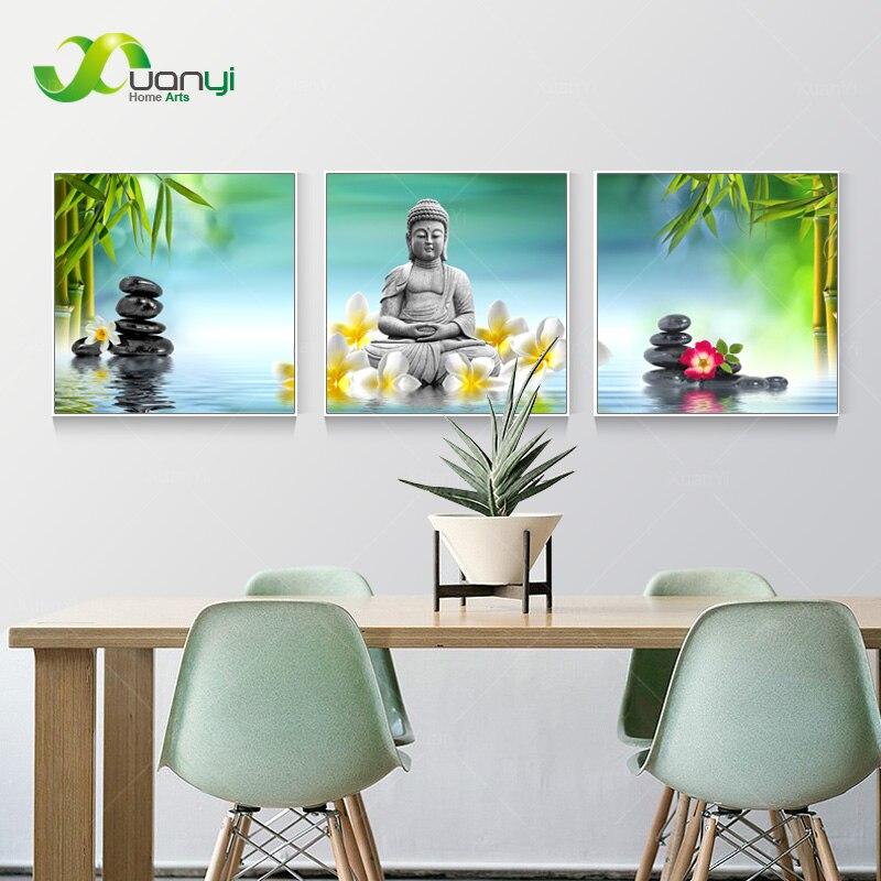 இ3 panel abstract impreso hotoke budismo Buda CUADRO DE PINTURA ...