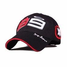 2018 New Jorge Lorenzo 99 Cap Motorcycle Racing Fans Baseball Hat MOTOGP Snapback Hats Motor Racing Cap Men F1 Bone Gorras