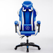 European Computer Gaming adjustable height gamer rotating armrest pc Home office Internet Chair(China)