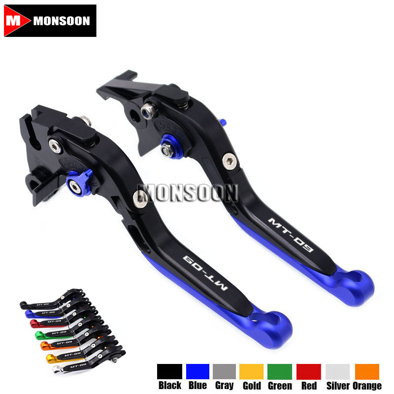 For YAMAHA MT-09/SR 2014 2015 2016 2017 MT-09 Tracer 2015 2016 2017 Motorcycle Folding Extendable Brake Clutch Levers 20 ColorsFor YAMAHA MT-09/SR 2014 2015 2016 2017 MT-09 Tracer 2015 2016 2017 Motorcycle Folding Extendable Brake Clutch Levers 20 Colors