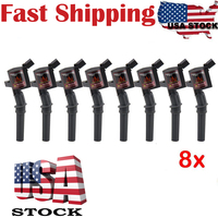 CarBole Pack Of 8 High Performance Black Ignition Coil For Ford Lincoln Mercury 4 6L 5