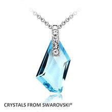 2016 regalo del Día de la Madre! calidad collar colgante para las mujeres Cristales de Swarovski De Arte de la joyería de Regalo de Navidad