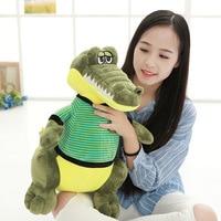 40cm soft short plush cartoon small crocodile plush toys christmas doll birthday gift wholesale