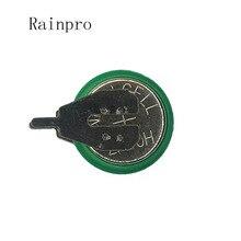 Rainpro 1 قطعة/الوحدة 1.2 فولت 40 مللي أمبير بطاريات Ni MH Ni MH مع دبابيس بطارية خلية زر قابلة للشحن