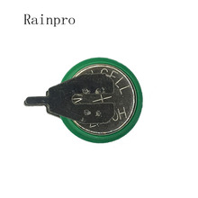 Rainpro 1 adet/grup 1.2V 40mAh Ni MH Ni MH piller pimleri ile şarj edilebilir düğme pil