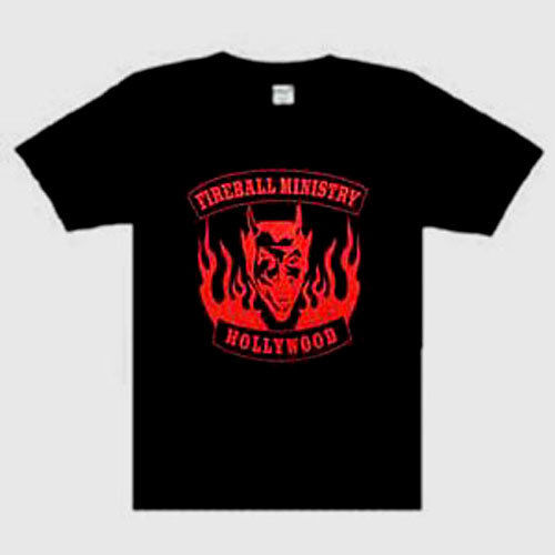 Fireball Ministry Second Great Music punk rock t-shirt NEW