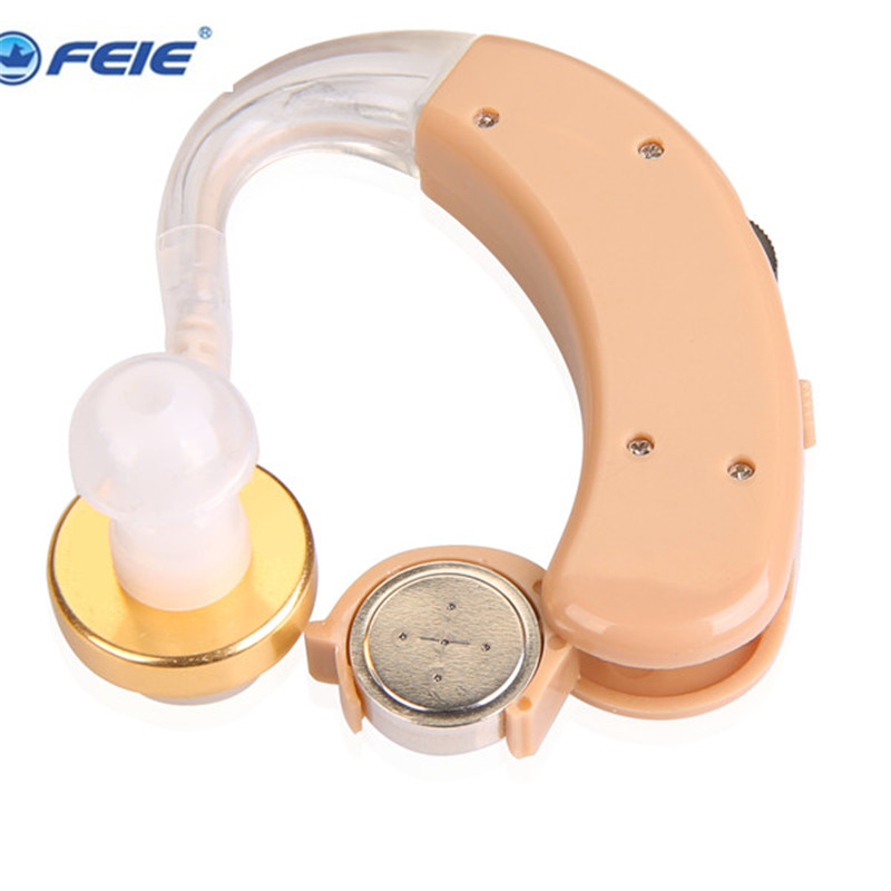 China Powerful Mini Size BTE in the Ear Deaf Hearing Aid S-520 for Hongkong Market for christmas gift free shipping