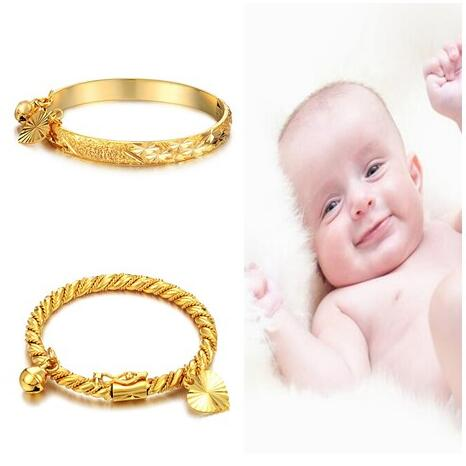 Fashion Baby Kids Lucky Charm Jewelry peach heart little baby Girl