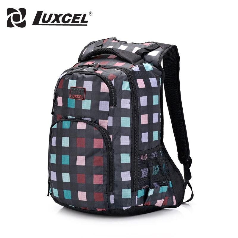 Luxcel fashion backpacks for women 2 color girl schoolbag for daypacks fashion backpack Causal Rucksack bag