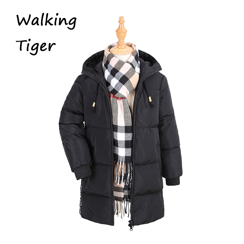 Kids winter coat boys girls down jacket Keep warm tops clothes fashion 2017 new children winter Outerwear children winter coats jacket baby boys warm outerwear thickening outdoors kids snow proof coat parkas cotton padded clothes