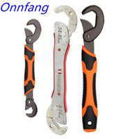 Chave chave ajustável quente multi-função universal ferramenta de chave de reparo em casa ferramenta de mão multi purpose chave de tubulação universal