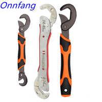 Heißer Einstellbar Spanner Multi-funktion Universal Wrench Tool Home Reparatur Key Hand werkzeug Multi Zweck Universal Rohr Schlüssel