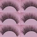 2 Pairs Women Natural Cross Eye Lashes Extension Makeup Long False Eyelashes