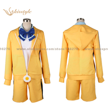 Kisstyle Fashion Bakemonogatari Monstory Monogatari Araragi Karen Uniform COS Clothing Cosplay Costume,Customized Accepted
