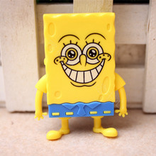 New Cartoon Spongebob Squarepants Design Mini Digital TF Card Download Free Music MP3 Player with Micro TF/SD Card Slot