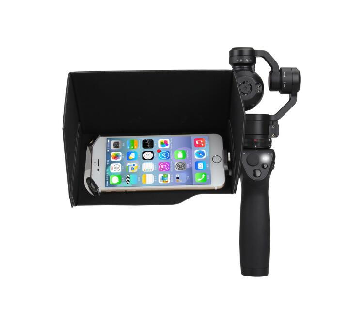 5.5 inch Mobile phone/iPad Sunshine hood Shading cover Sunshade Sun hood spare parts for DJI OSMO Handheld PTZ Gimbal