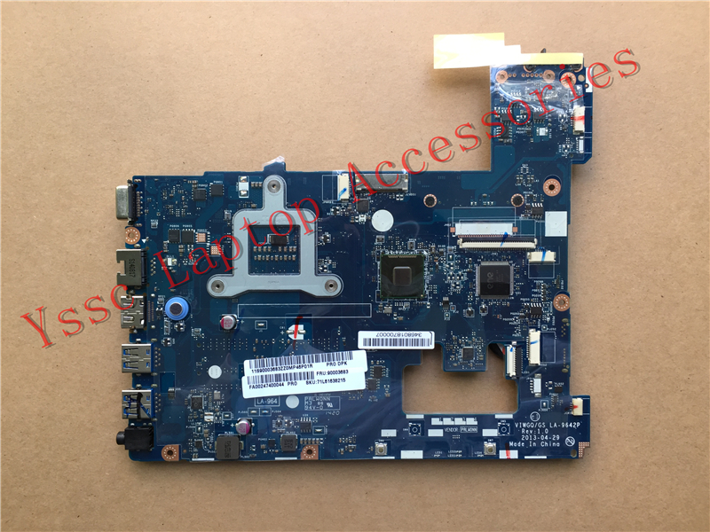 New New VIWGQGS LA 9642P motherboard For Lenovo G510 Laptop motherboard For intel I3 I5 I7