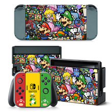 For Nintend Switch console and controller sticker For Nintend Switch Skin Sticker NS Game Console Vinyl Sticker--5067(China)