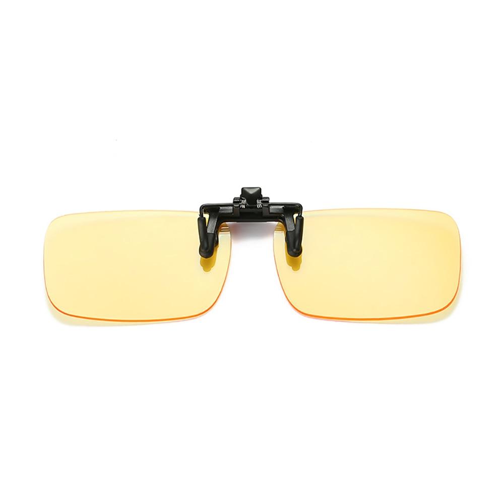 Anti-Blu-ray Myopia Glasses Clip Male Night vision Glasses Men Sunglasses Women Sunglass Clips Clip for Cars Driving PC screen