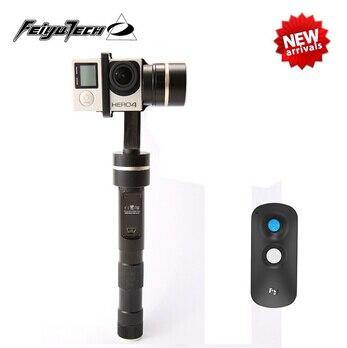 Feiyu Tecnologia FY-G4S + Joystick De Controle Remoto Sem Fio 360 Graus de Movimento 3-Axis Handheld Cardan Estável para GoPro