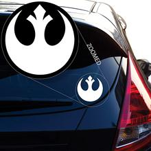 Yoonek Graphics Rebel Alliance From Starwars Decal Sticker for Car Window, Laptop and More. # 510 (4