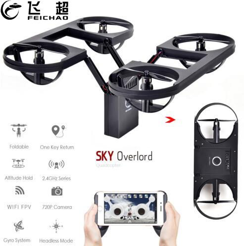 Mini TY6 Foldable Helicopter Pocket Altitude 2.4G 4CH RC Drone Wifi FPV 720P HD Camera RC Quadcopter 3D Flips Rolls For Kids