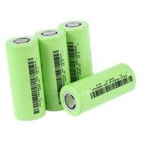 CLCU Soshine 4x IFR 26650 Battery 3.2V Rechargeable 3200mAh 30A Flat Top LiFePO4 Purple