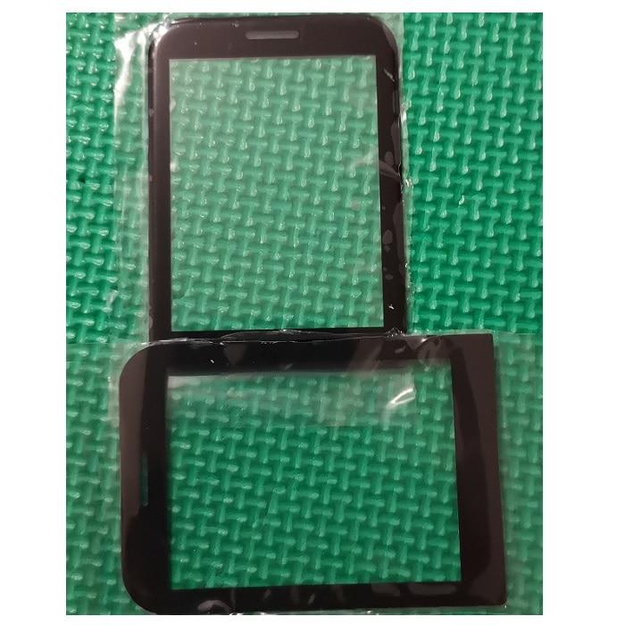 SZWESTTOP Original LENS for Philips E580 cellphone Black glass for Xenium CTE580 LCD mobile phone