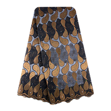 Bestway Water Drop ALL 100%  Cotton Swiss Voile Lace Fabric In Switzerland In Coffee Color Nigerian Fabric Rhinestones Lace Clot bascom african art in cultural perspective clot h