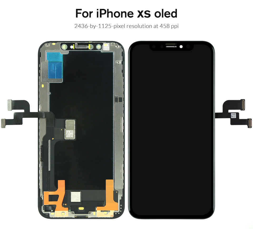 HTB1Uru2affsK1RjSszbq6AqBXXaB Grade For iPhone X S Max XR LCD Display For Tianma AMOLED OEM Touch Screen With Digitizer Replacement Assembly Parts Black