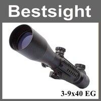 Tactical Sniper Scope AR15 AR10 223 308 Hunting Riflescope 3 9x40 Optical Telescopic Sight Aiming Device