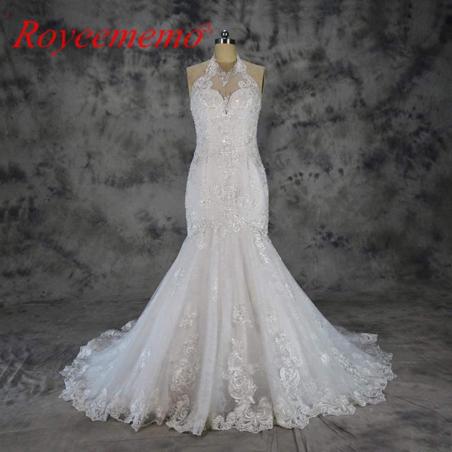 Lace Halter Wedding Gown: 2019 Vestido De Noiva New Special Lace Design Wedding