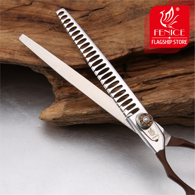 Professional JP440C pet grooming scissors Thinning Shears left-handed tools stainless steel JP440C 7 inch 7.5 inch 4