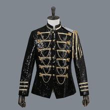 Мужской костюм куртка платье для выступлений мужской смокинг