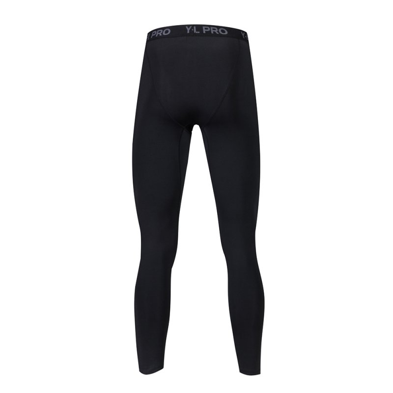 2018 New Mens Compression Pants Bodybuilding Fitness Skinny Leggings Tights Pants Compression Pants Clothing Clothes