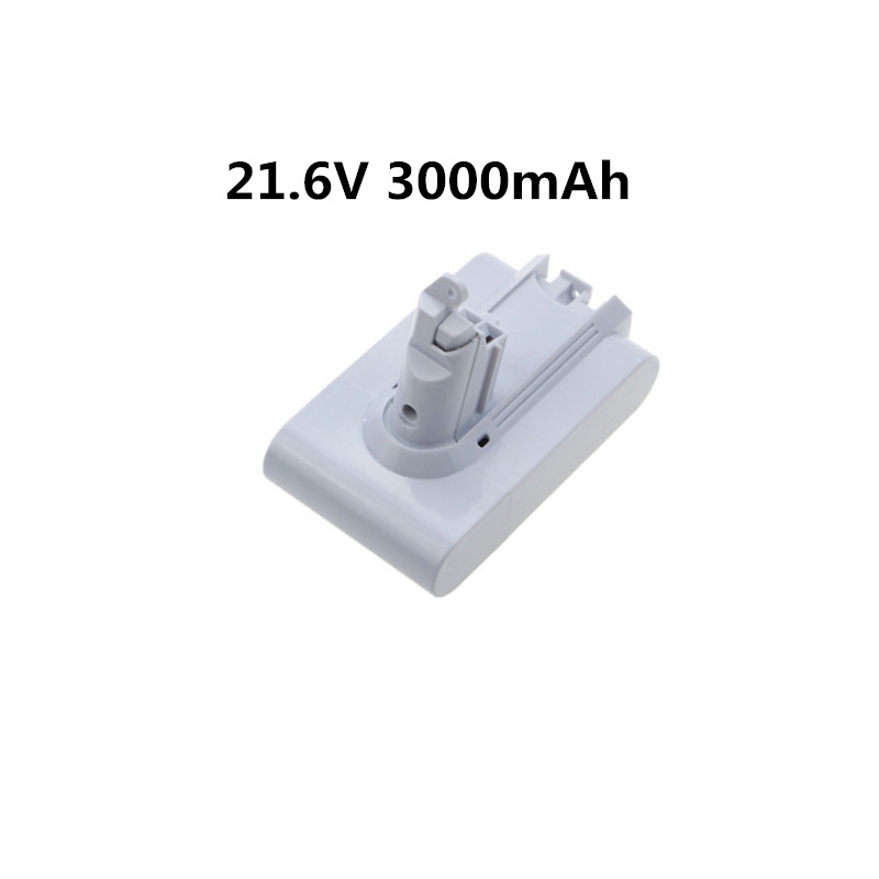 NEW 21.6V 3000mAh Replacement Battery for Dyson Li-ion Vacuum Cleaner DC58 DC61 DC62 V6 965874-02 Animal DC72 Handheld Battery 21 6v 2200mah replacement battery for dyson li ion vacuum cleaner dc58 dc61 dc62 v6 965874 02 animal dc72 handheld battery